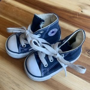 Converse all stars high top shoes
